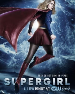 Supergirl 2x20 Poster - They Do Not Come In Peace