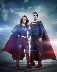 Supergirl Season 2 Poster - Superman First Look