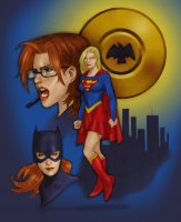 Supergirl-Oracle-Batgirl-by-Jeff-Tanis