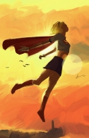 Supergirl-Sun-by-Djcox-213