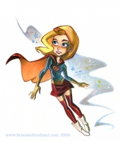 Supergirl-by-Brianne-Drouhard-aka-Potatofarmgirl