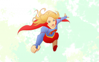 Supergirl by Edward Pun