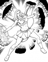 Supergirl-by-Fraim