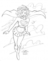 Supergirl-by-Gene-Gonzales-2007-Heroes-Con