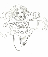 Supergirl-by-Tom-Burgos