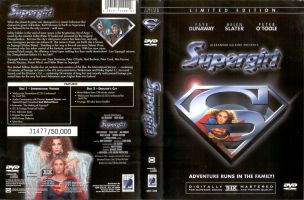 SUPERGIRL LE DVD Dustcover