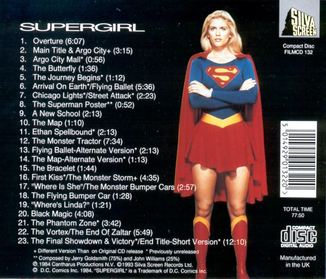 Soundtrack CD Case Back