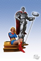 Superman-Family-Multi-Part-Statue_2011_Supergirl-and-Steel