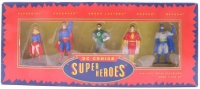 Diecast-DC-Comics-Superheroes-Supergirl-Superman-Green-Lantern-Shazam-Batman