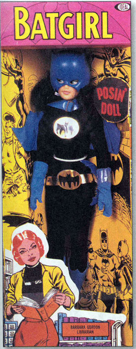 "Ideal Comic Heroine ""Super Queen"" Batgirl Doll"