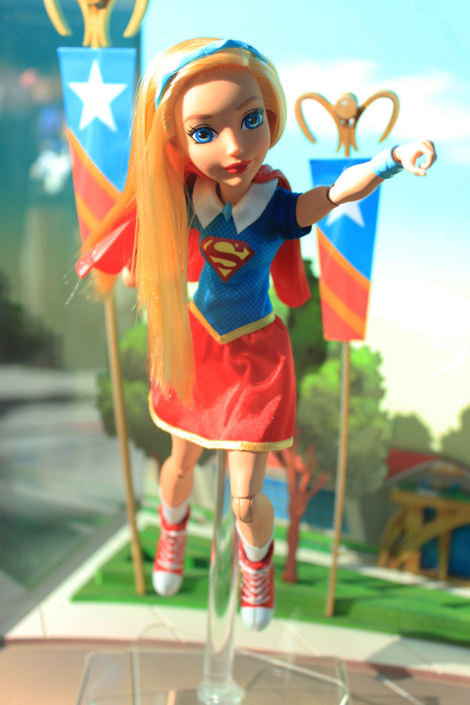 "DC Super Hero Girls - Supergirl 12"" Action Doll (NYCC)"
