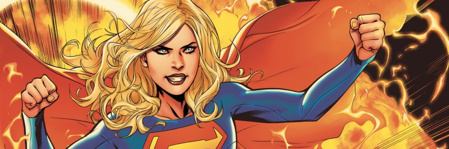 Supergirl Rebirth Preview header